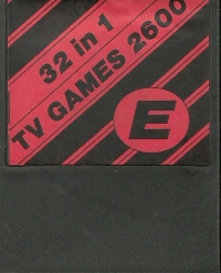 32 in 1 - TV Games 2600 E