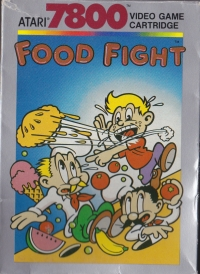 Food Fight (black & white label on the cartridge)