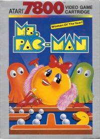 Ms. Pac-Man (black & white cartridge label)