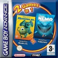 2 Games in 1: Disney/Pixar: Monster & Co. + Disney/Pixar: Finding Nemo