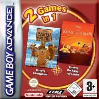 2 games in 1: Disneys Bärenbrüder + Lion King