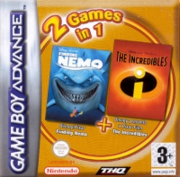2 Games In 1: Finding Nemo + The Incredibles