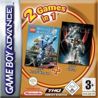 2 Games In 1: Knights Kingdom + Bionicle