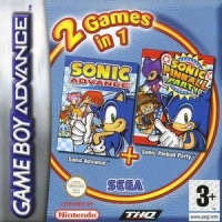 2 Games in 1: Sonic Advance + Sonic Pinball Party