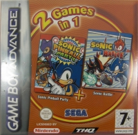 2 Games in 1: Sonic Pinball Party + Sonic Battle