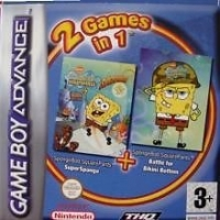 2 Games in 1: SpongeBob Squarepants: Supersponge + SpongeBob Squarepants: Battle For Bikini Bottom