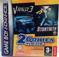 2 Games Inside: V-Rally 3 / Stuntman