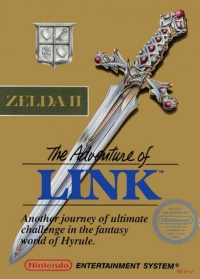 Zelda II: The Adventure of Link (Gold Cartridge)