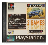 2 Games - Colin Mc Rae Rally /  Toca World Touring Cars