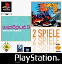 2 games in 1: Destruction Derby 2 & WipeOut 3 Special Edition