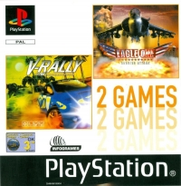 2 Games: V-Rally / Eagle One: Harrier Attack