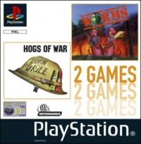 2 in 1 Game: Hogs of War & Worms