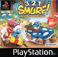 3, 2, 1 Smurf!: My First Racing Game
