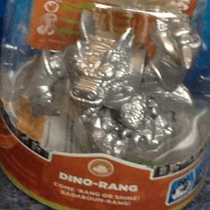 Silver Dino-Rang