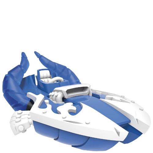 Power Blue Splatter Splasher